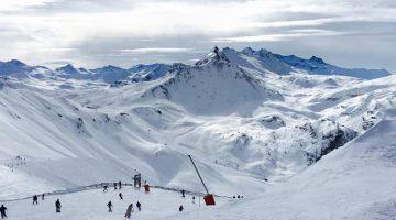 Une colonie de vacances à la neige