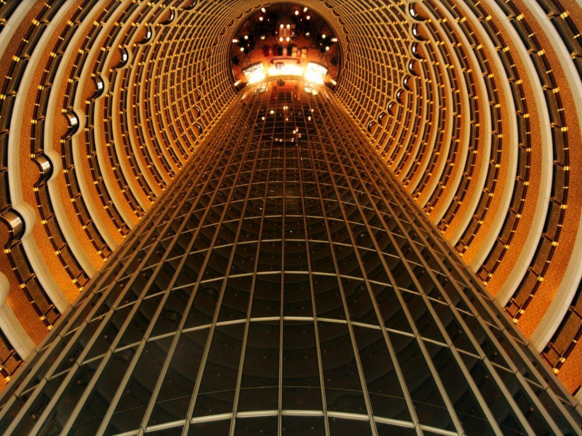 La tour Jin Mao en Chine