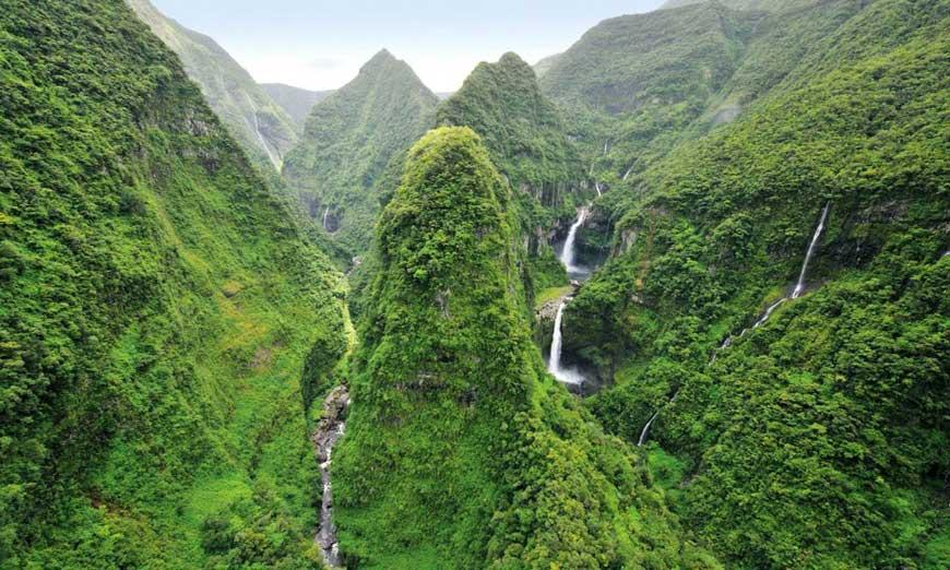 La Réunion et ses merveilles naturelles